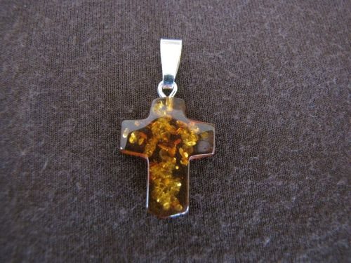 Silver pendants crosses and crucifixes silver jewellery sales silver amber cross pendant mozeypictures Gallery