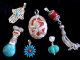 Turquoise and/or Coral Silver Pendants
