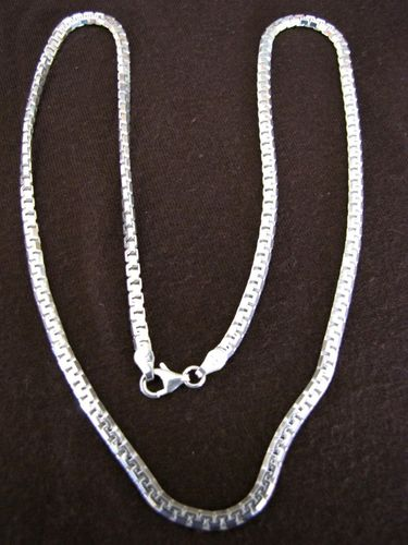 Heavy Weight Silver Box Chain