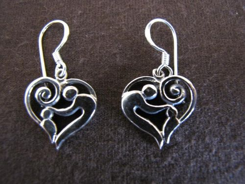 Silver Blessing Earrings